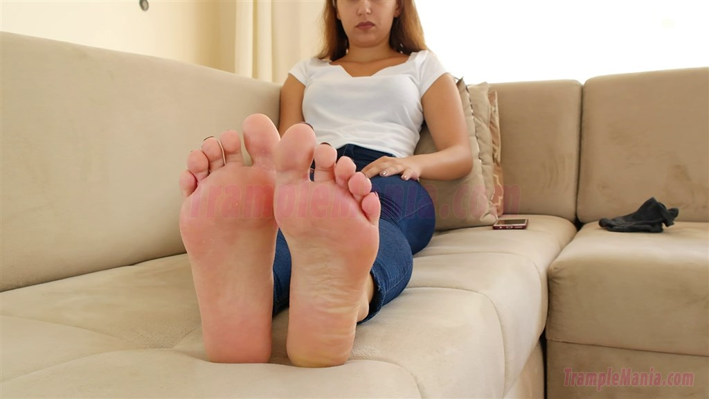 Gym foot fetish-1230