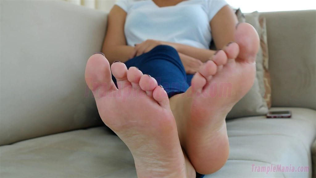 Gym foot fetish-6406