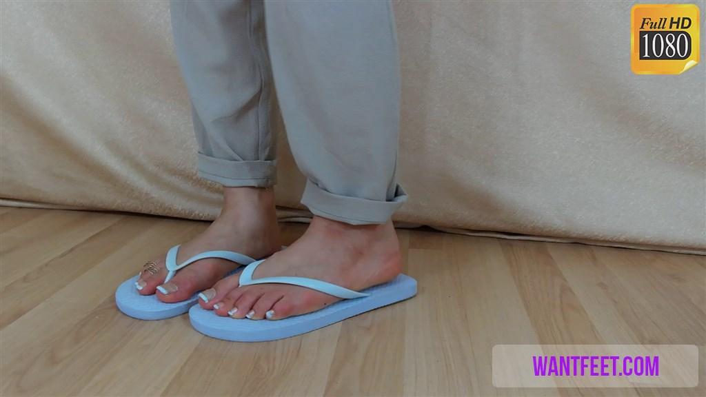 Sexy feet clips
